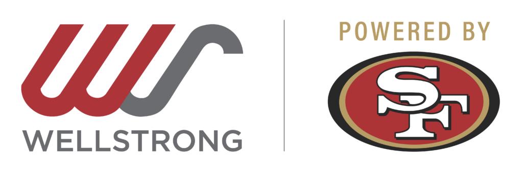 WellStrong/49ers logo