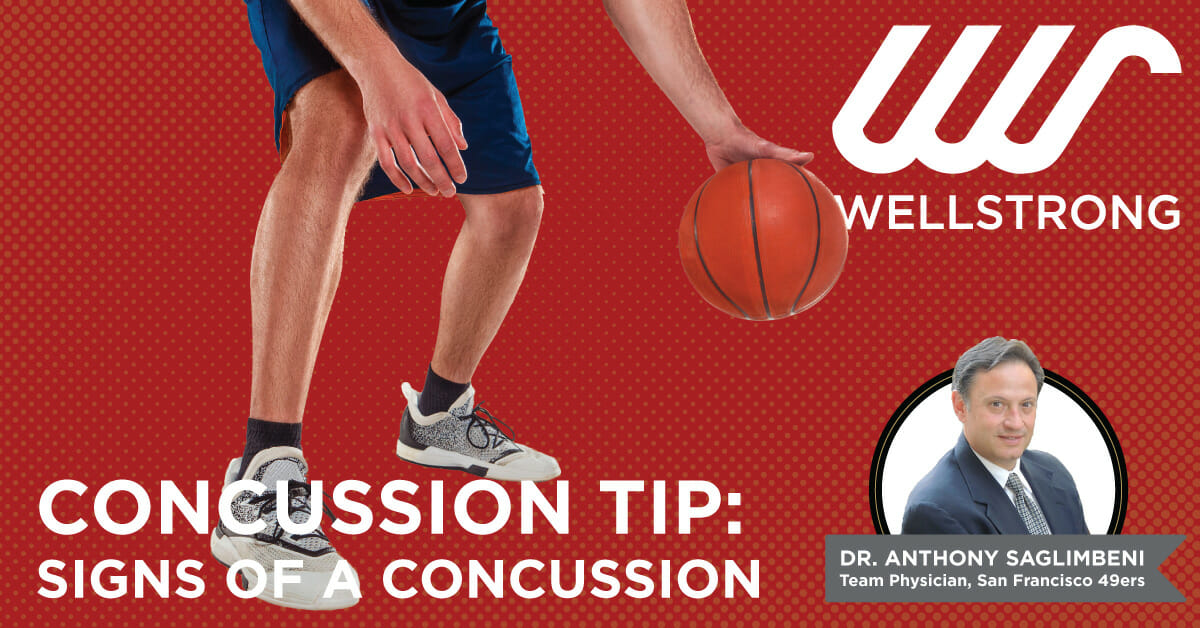 concussion tip signs of a concussion