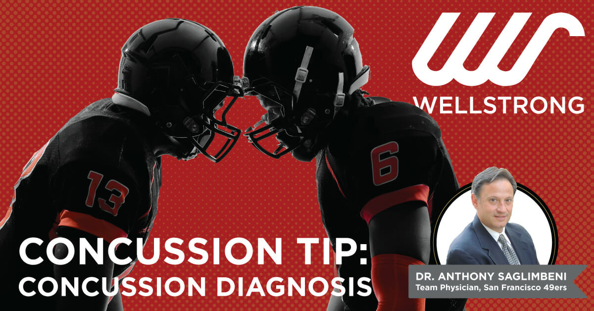 concussion tip concussion diagnosis
